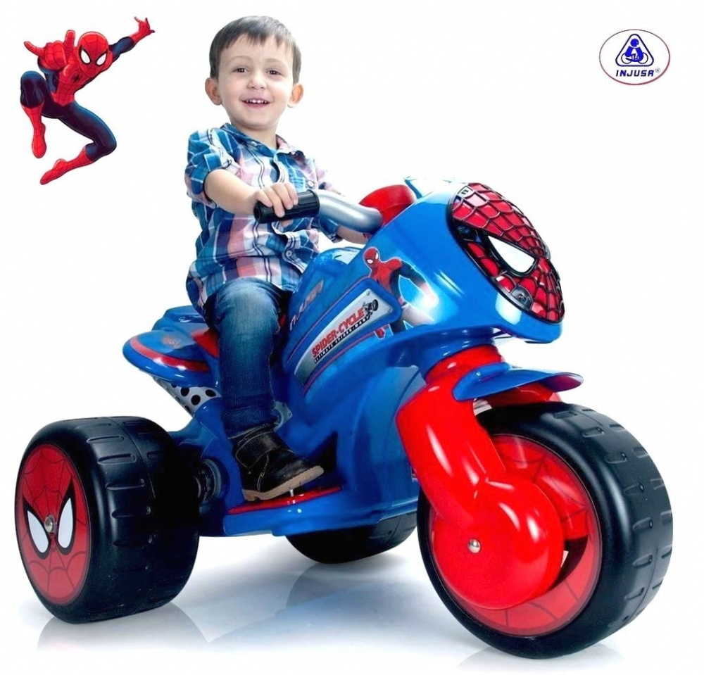 Motoscuter Electric Injusa Waves The Amazing Spide