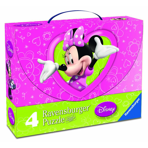 Puzzle Minnie Mouse, 2x25 Piese2x36 Piese