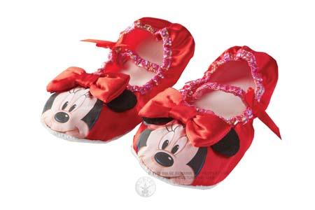 Pantofiori MINNIE MOUSE (ROSU)