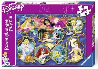 Puzzle Printesele Disney, 300 Piese