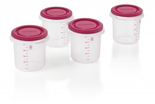 Set 4 Recipiente Plastic Bpa Free