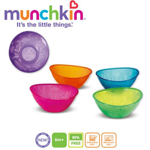 Set 5 boluri multicolore Munchkin imagine