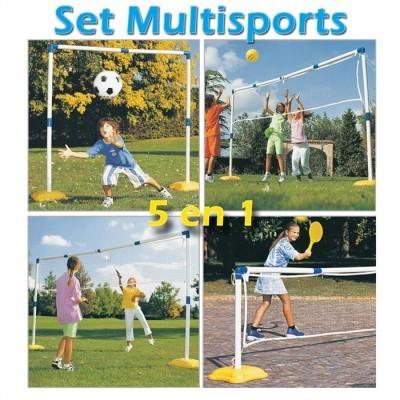 Set 5 in 1 Sporturi pentru Copii Multisport