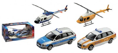 Set cadou elicopter + Audi A4 security Germania