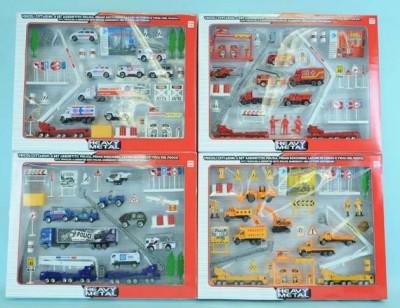 Set vehicole cu accesorii 40 piese