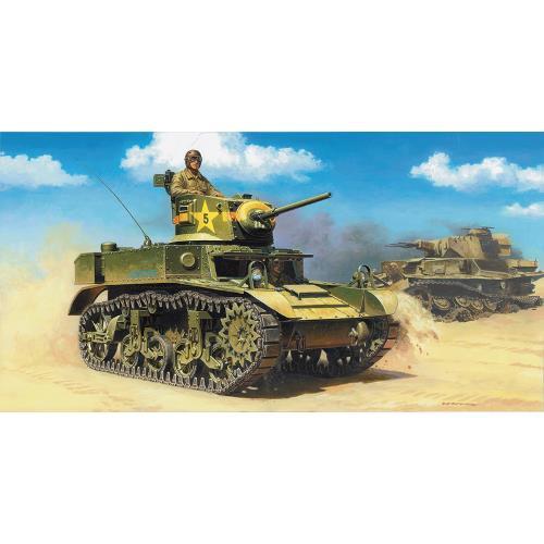 Tanc American Light M3A1 Stuart