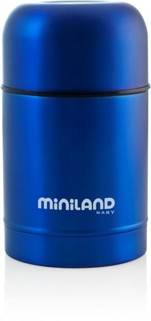 Termos mancare solida Pink, Blue 600 ml Miniland
