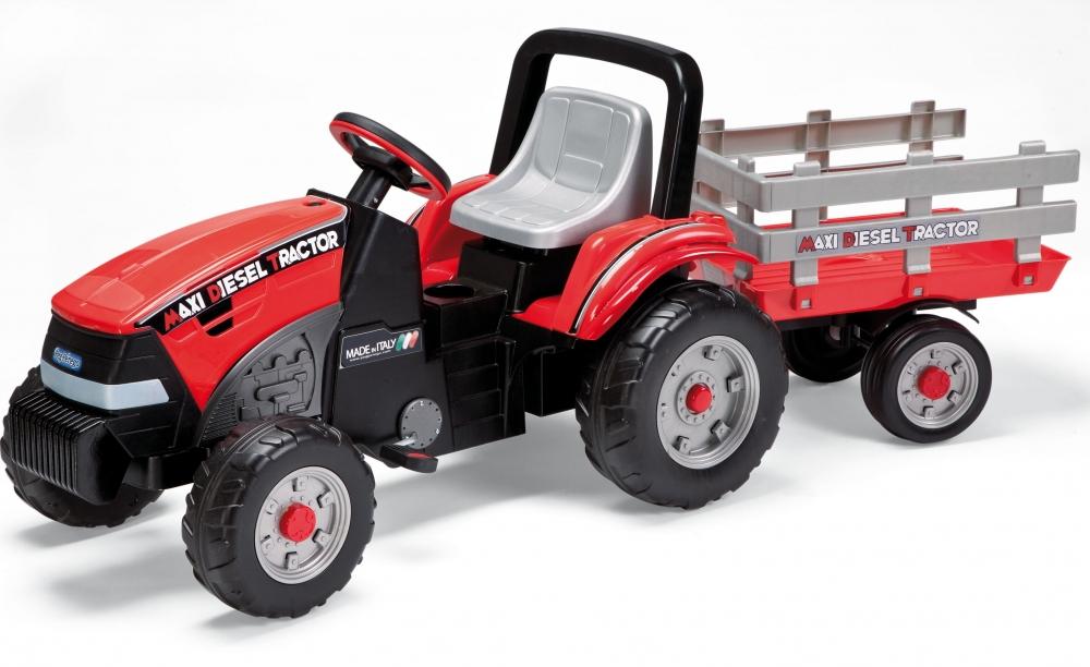 Tractor Maxi Diesel cu remorca Peg Perego - 7
