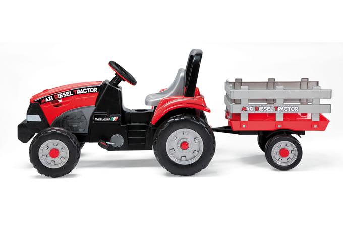 Tractor Maxi Diesel cu remorca Peg Perego - 1