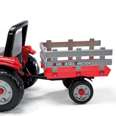 Tractor Maxi Diesel cu remorca Peg Perego - 4