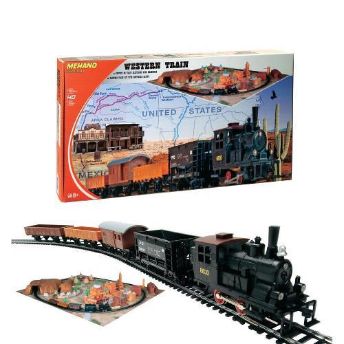 Trenulet Electric Western cu Diorama