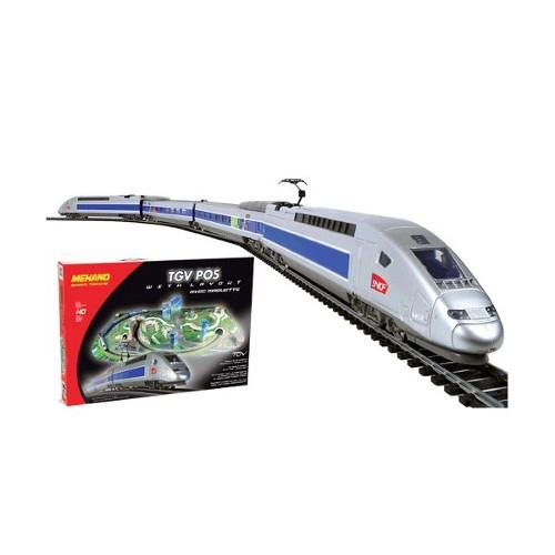 Trenulet Electric de Mare Viteza TGV POS cu Macheta