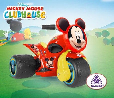 Trimoto electric Injusa Samurai Mickey Clubhouse