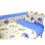 Lenjerie Confort 3 piese 120x60cm