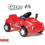 Masina Smart cu pedale rosie