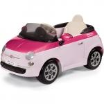 Masinuta electrica Fiat 500 Pink