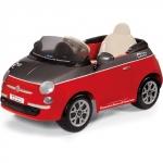 Masinuta electrica Fiat 500 Red cu Telecomanda