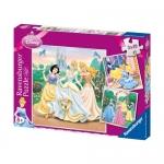 Puzzle Printesele Disney, 3x49 Piese