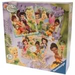 Puzzle Zanele Disney, 3 Buc In Cutie, 25/36/49 Piese