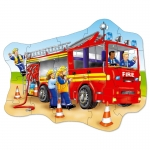 Puzzle de podea masina de pompieri