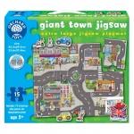 Puzzle gigant de podea orasul