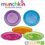Set 5 farfurii colorate Munchkin