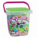 Set constructie Unico Plus Hello Kitty Galetusa cu placa de montat 56 piese