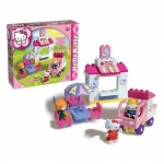 Set constructie Unico Plus Hello Kitty Gelaterie