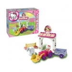 Set constructie Unico Plus Hello Kitty Mini Ferma
