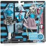 Set de haine pentru Papusa Monster High Frankie Stein