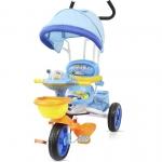 Tricicleta Chipolino Friends cu copertina blue