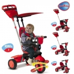 Tricicleta Smart Trike Spirit Red 4 in 1