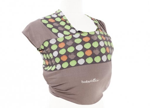 Baby wrap almondtaupe