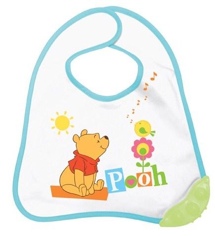 Poza Baveta cu inel dentitie Winni The Pooh