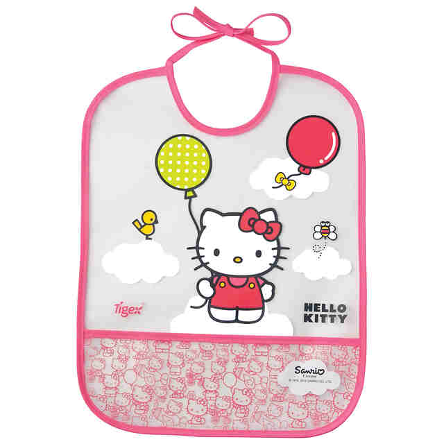 Baveta transparenta EVA (+6L) Hello Kitty