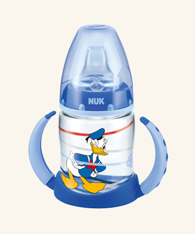 Biberon FC din PP 150ml+Toarte+Adaptor Silic.(6) Disney Donald Duck
