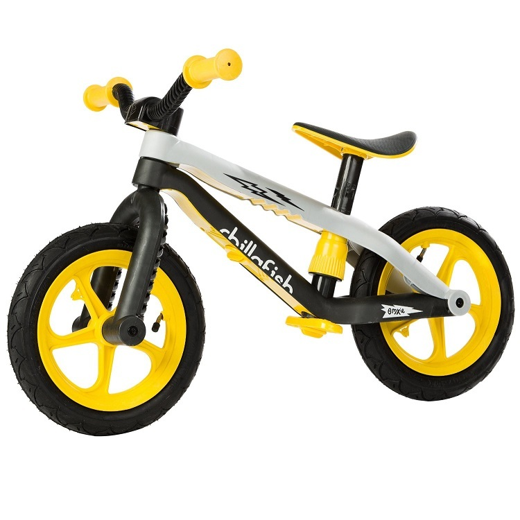 Bicicleta fara pedale BMXIE galbena