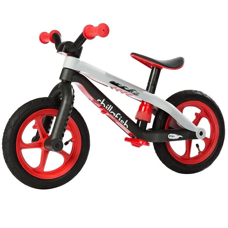 Bicicleta fara pedale BMXIE rosie