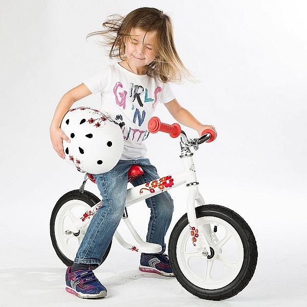 Bicicleta fara pedale JACK JOSIE alba