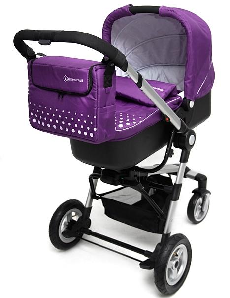 Carucior 3 in 1 Kraft Purple