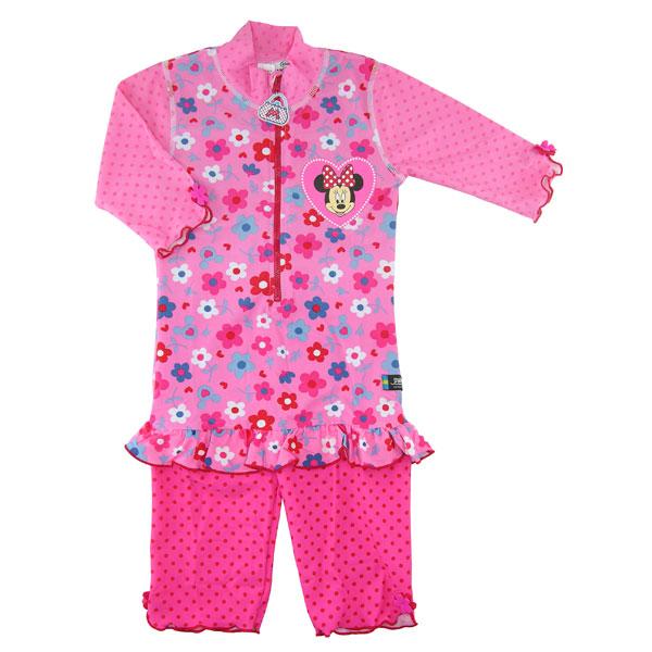 Costum De Baie Minnie Mouse Marime 98-104 Protecti