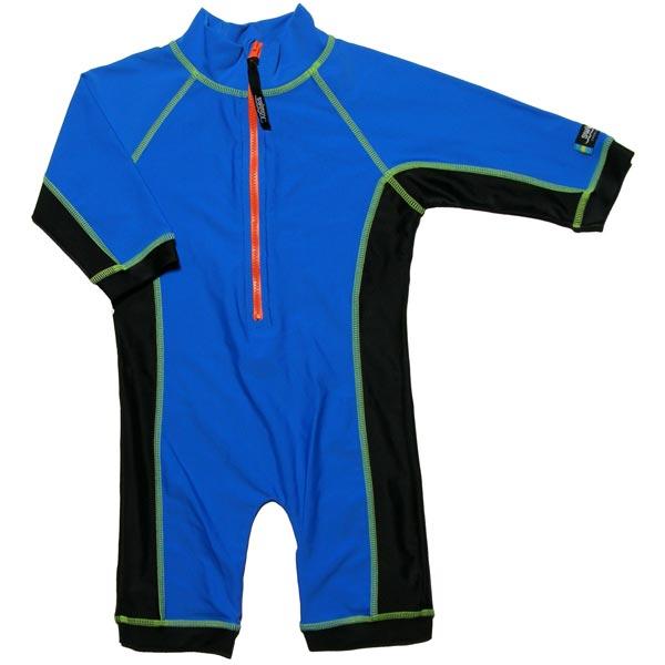 Costum de baie blue black marime 86-92 protectie UV  Swimpy