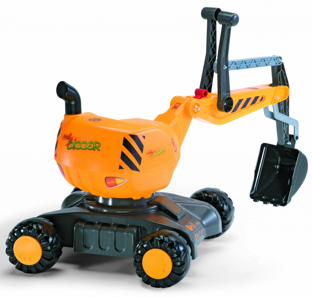 Excavator Cu Roti Rolly Toys Digger