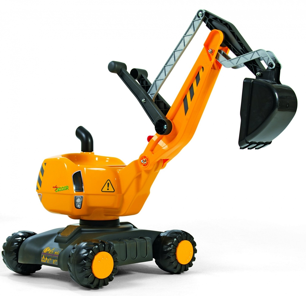 Excavator cu roti Rolly Toys Digger imagine