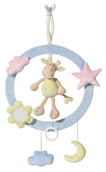 Inel muzical decorativ Girafa Brevi Soft Toys