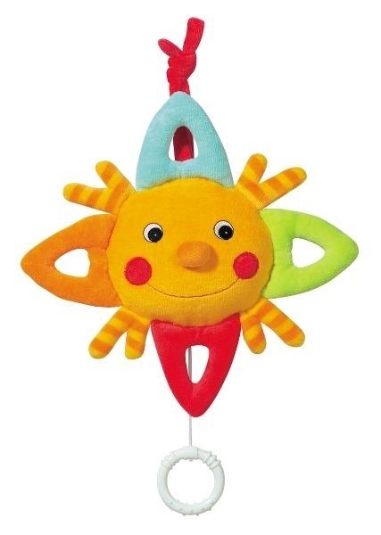 Jucarie muzicala Soare Brevi Soft Toys