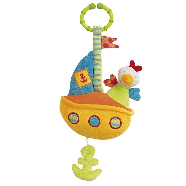 Jucarie muzicala Vaporas Brevi Soft Toys