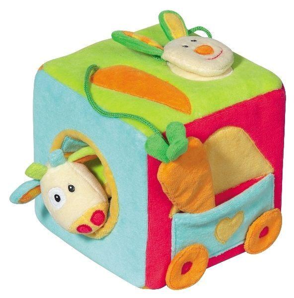 Jucarie cub cu sunete colorat intens Brevi Soft Toys