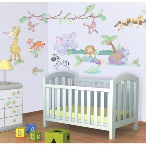 Kit Decor Baby Jungle Safari