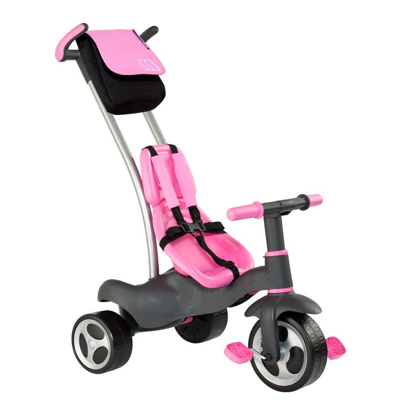 Tricicleta roz 5 in 1 Molto